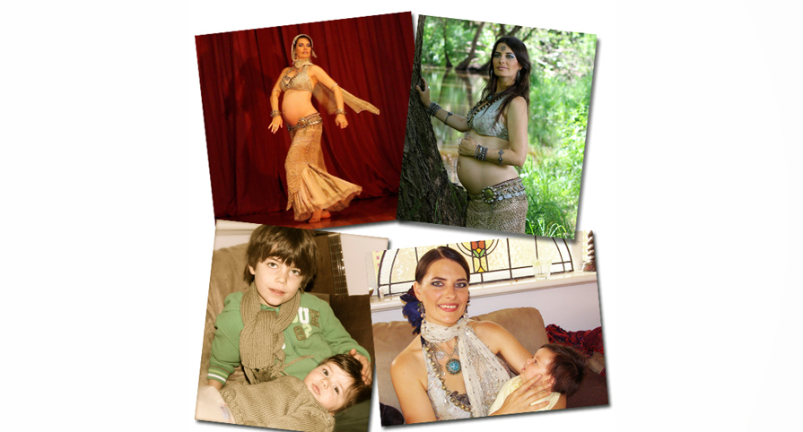 Early childhood parenting and Belly dance